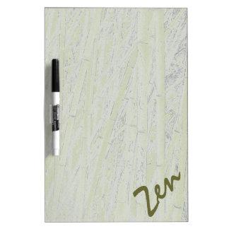 'Zen Bamboo' Dry Erase Board