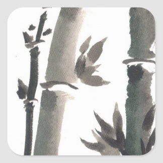 Zen Bamboo Stickers