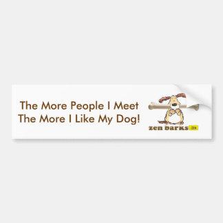 Zen Barks Bumper Stickers