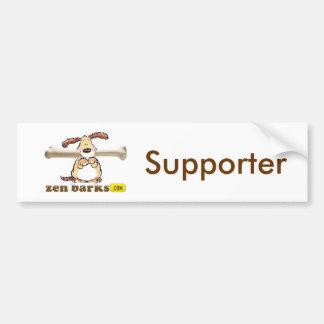 Zen Barks Bumper Sticker