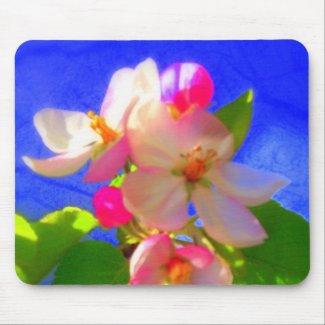 Zen Blossoms Mousepad