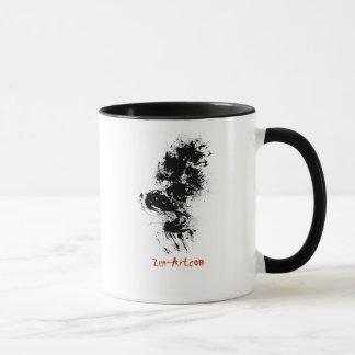 Zen-Brush Art mug