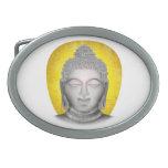 Zen Buda Hebilla De Cinturon Oval
