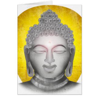 Zen Buda Tarjeta De Felicitación