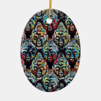 Zen Buddha Ceramic Ornament