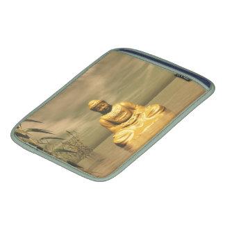 Zen buddha meditating iPad sleeve