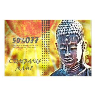 Zen buddha meditation Yoga Massage Therapist Flyer