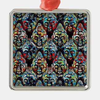Zen Buddha Metal Ornament