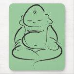 Zen Buddha Mouse Pad