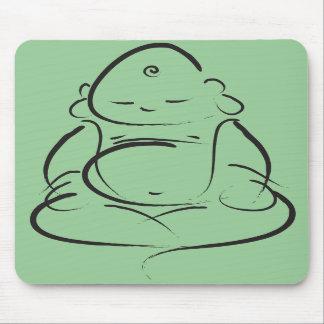 Zen Buddha Mouse Mat