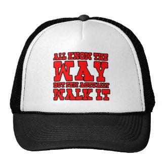 Zen Buddhism Western Style Trucker Hat