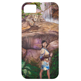 Zen Buddhist Tiger and Strawberry iPhone 5 Covers
