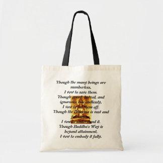 Zen Buddhist Vow Tote Bag