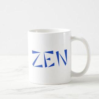 zen budismo buddhism taza básica blanca