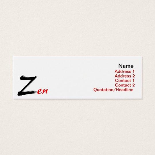 Zen Business Card
