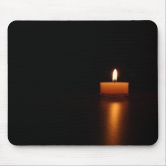 Zen Candle Mouse Pad