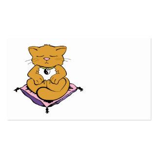 Zen Cat Business Card Templates