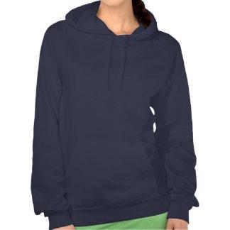 Zen Cat Monochrome Hooded Fleece Sweastshirt Sweatshirts