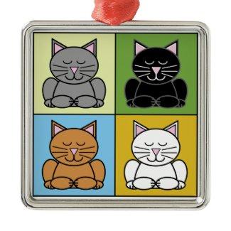 Zen Cat Ornament ornament