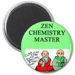 zen chemidtry master refrigerator magnets