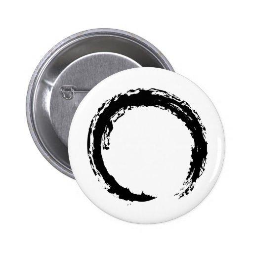 Zen Circle 2 Inch Round Button
