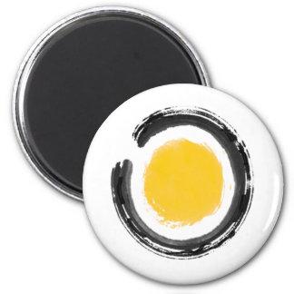 Zen Circle 2 Inch Round Magnet