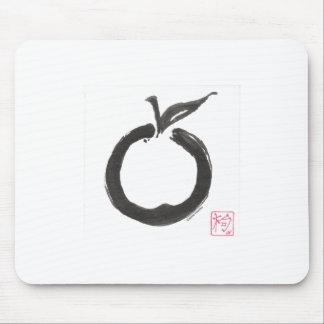 Zen Circle Apple Mouse Pad
