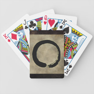 ZEN CIRCLE BICYCLE PLAYING CARDS