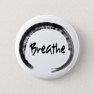 Zen Circle - Breathe - Yoga Pin Buttons