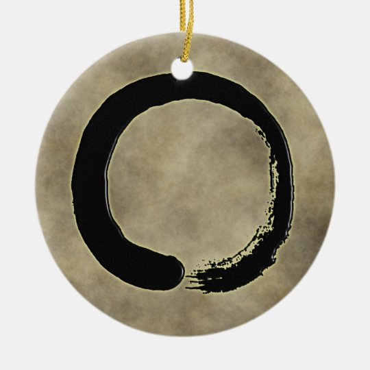 ZEN CIRCLE CERAMIC ORNAMENT