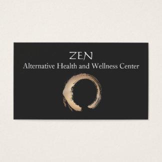 Zen Circle Enso Yoga and Meditation Buddhist 3 Business Card