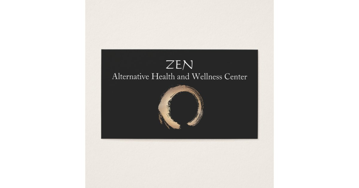 Zen Circle Enso Yoga and Meditation Buddhist 3 Business Card ...