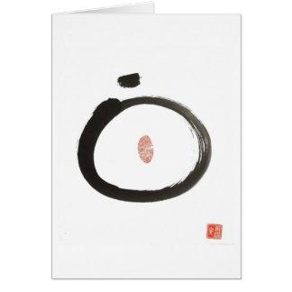 Zen Circle Greeting Card