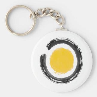 Zen Circle Keychain