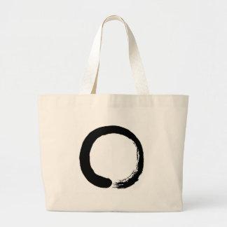 Zen Circle Large Tote Bag