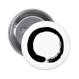 Zen Circle Pinback Button