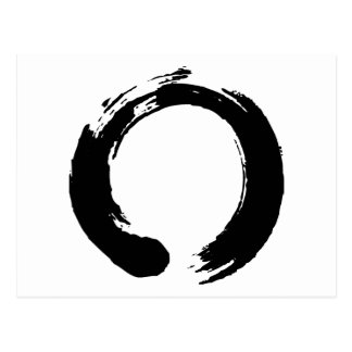 Zen Circle Post Card