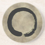 "ZEN CIRCLE SANDSTONE COASTER<br><div class=""desc"">ZEN CIRCLE ON MIST BACKGROUND</div>"