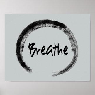 Zen Circle - Zen Art Prints - Yoga Posters