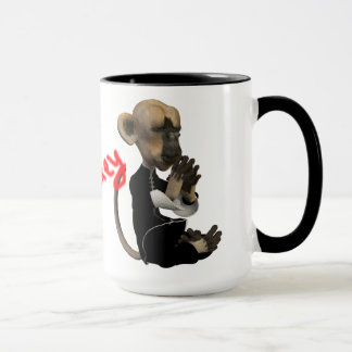 Zen Coffe/Monkey Mug