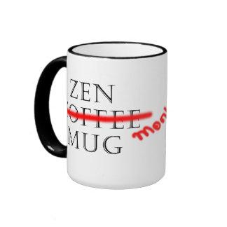 Zen Coffe/taza del mono Taza De Dos Colores