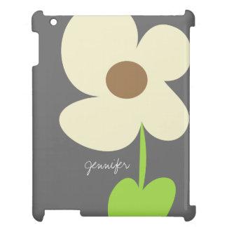 Zen Daisy Personalized iPad 2/3/4 Case iPad Cases