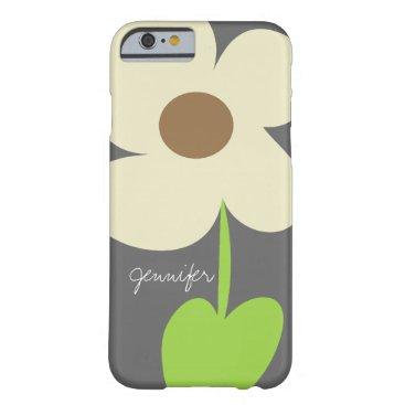 Zen Daisy Personalized iPhone 6/6S Case