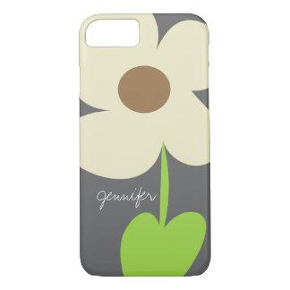 Zen Daisy Personalized iPhone 7 Case