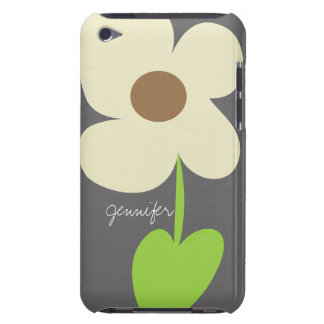 Zen Daisy Personalized iPod Touch 4 Case-Mate Case iPod Touch Case