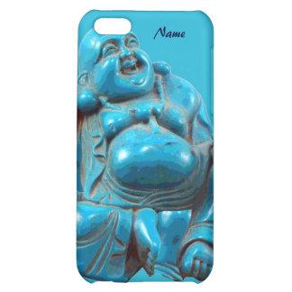 Zen de talla azul feliz del Buddhism de la turques