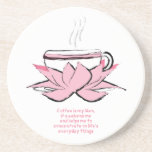 zen del café posavasos manualidades