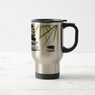 Zen del guijarro tazas de café