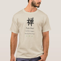 Zen Diet – Eat More Veggies – Discover Inner Peas T-Shirt