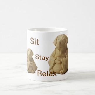 Zen Dog Coffee Mug